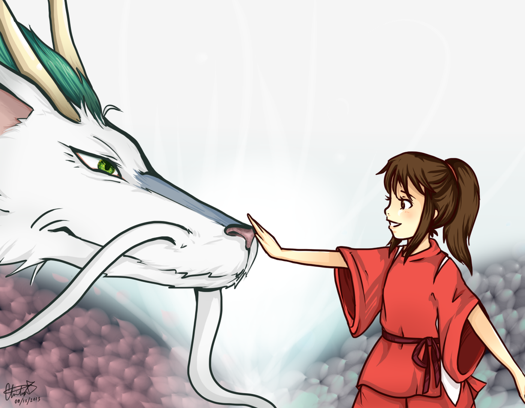 Spirited Away by meepspeaker