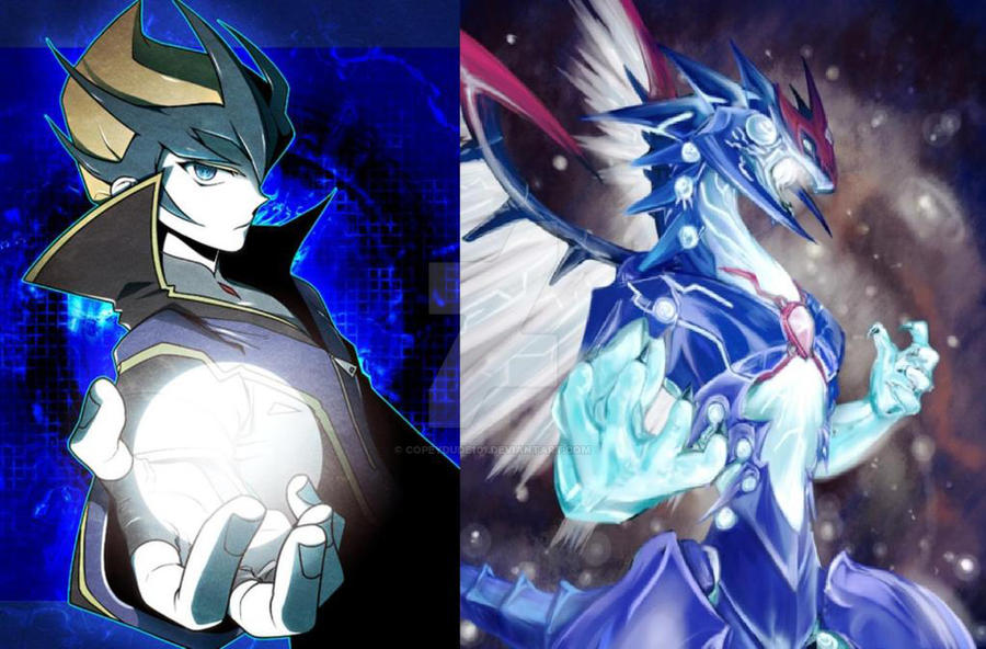 kaito and galaxy eyes photon dragon wallpaper by copeydude101 d4p633v