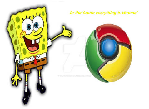 In the future everything is chrome!