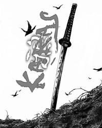 The Crow-Karas Sword by Copeydude101