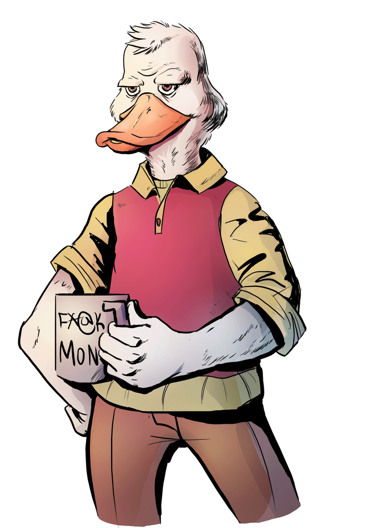 Howard-the-duckcolors by atomicHavoc