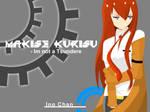 Request : Makise Kurisu by justinok