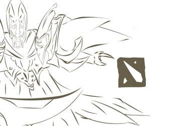 Dota2 Sketch #3 : Spectre by justinok