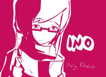 Doodle : Nerd Megane by justinok