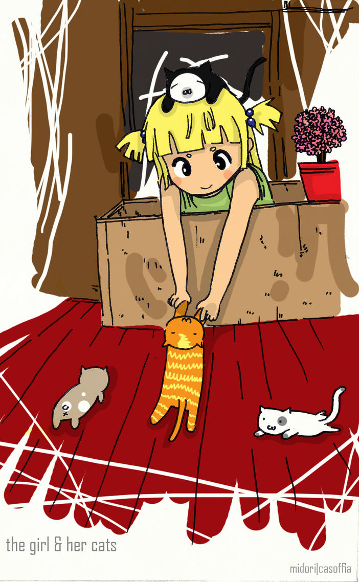 Catgirl by Midori2501Aikou