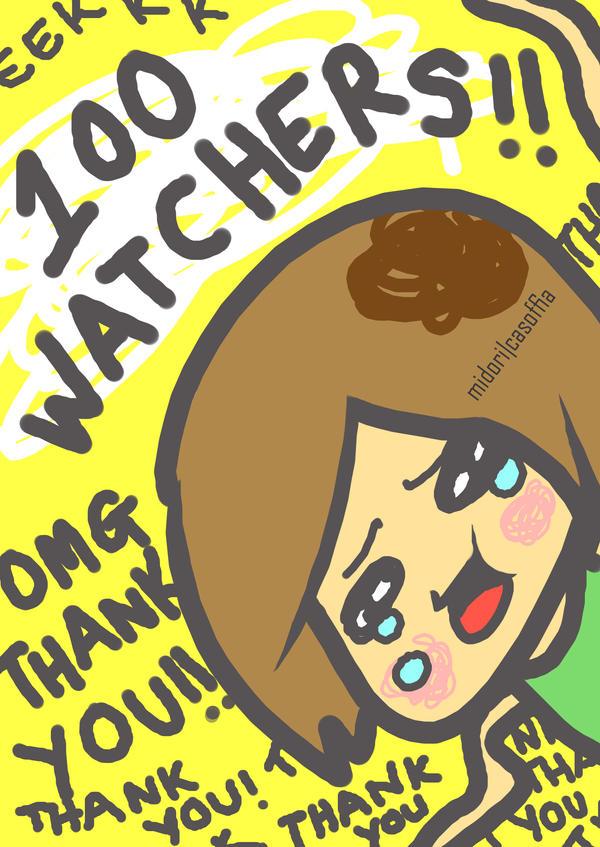100 WATCHERS by Midori2501Aikou