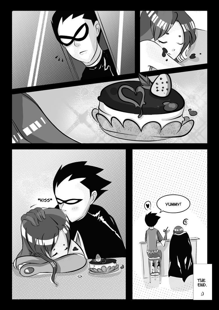 Sweet Surprise : A Teen Titan fancomic Page. 2 by Midori2501Aikou