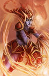 League of legends: Shyvana's flame