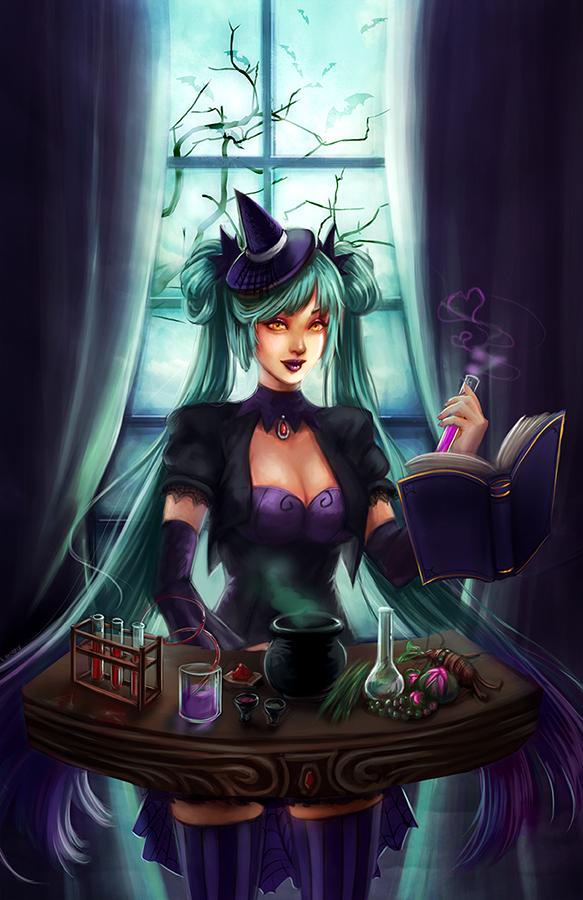 Witchcraft Sona by Ka-ho