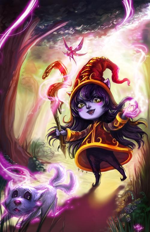 LoL: Lulu the Fae Sorceress by Ka-ho
