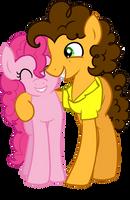 Pinkie Pie x Cheese Sandwich by Scarlet-Spectrum
