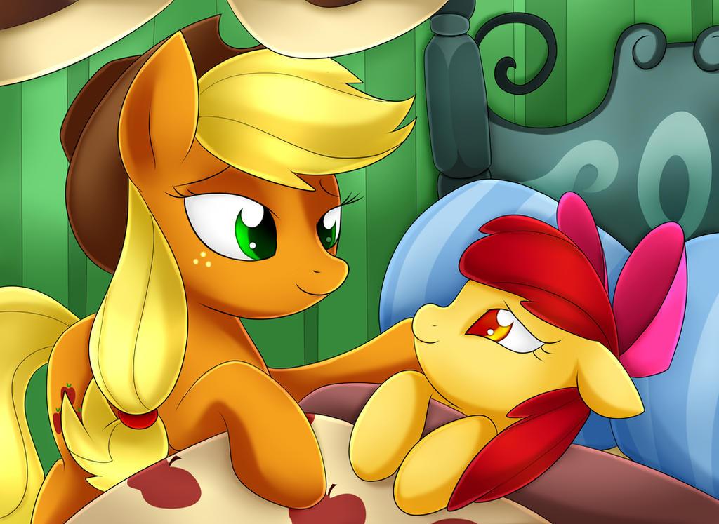 apple_bloom_and_applejack_by_scarlet_spe