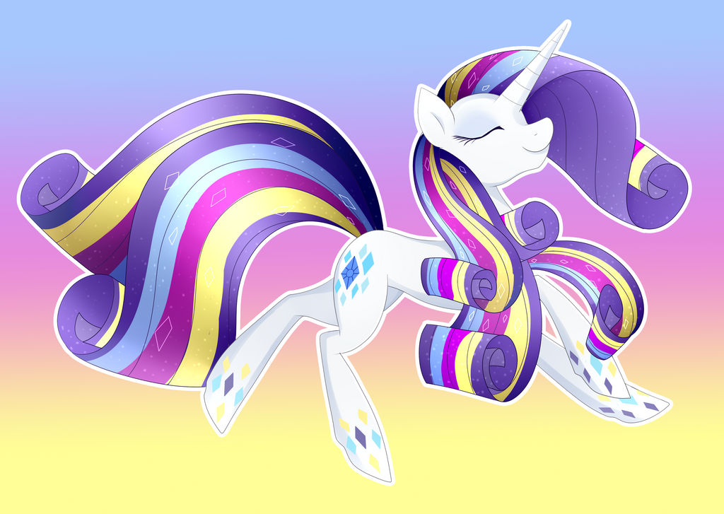 Rarity Rainbow Power