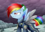 Rainbow Dash in the War [S5 Finale Spoilers!!)
