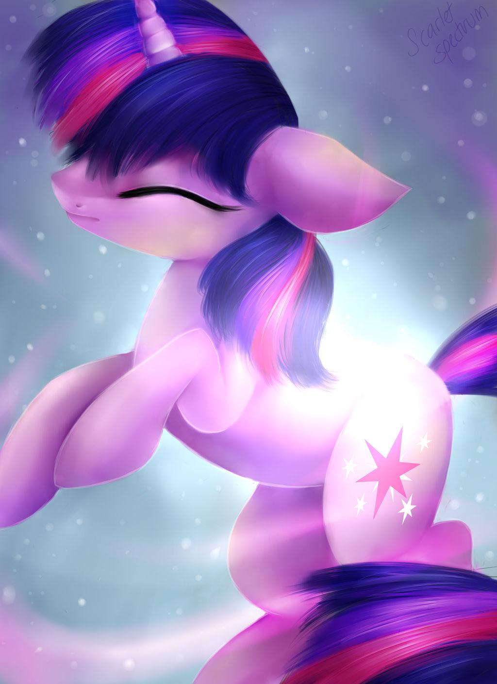 Twilight becoming an Alicorn