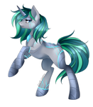 Cyborg Pony [Commission]