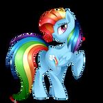 Rainbow Fash +  Speedpaint