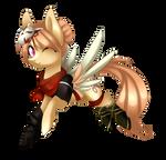 Ninja Hazel [Commission] + Speedpaint