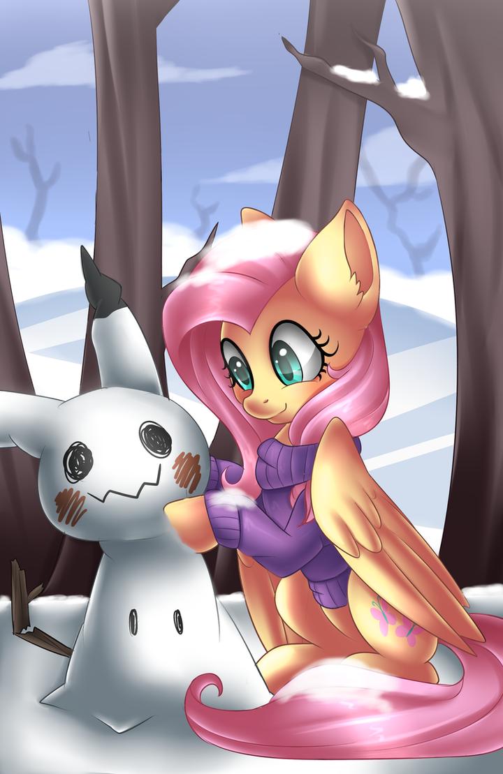 Winter Time + Speedpaint by Scarlet-Spectrum