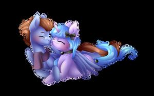 Cuddles by Scarlet-Spectrum