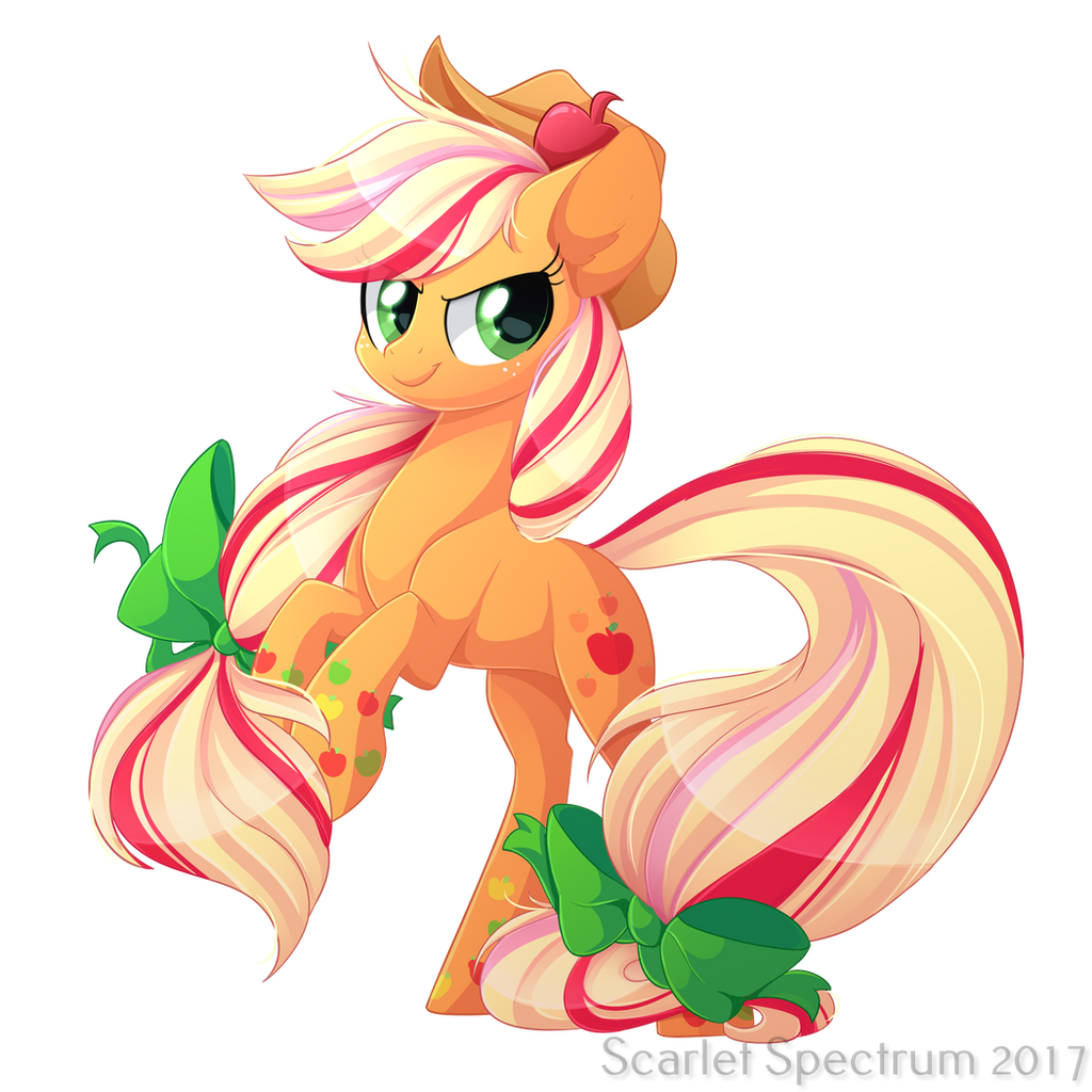 Applejack Rainbow Power By Scarlet-Spectrum On DeviantArt