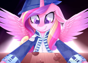Shipping Admiral Cadance [C] by Scarlet-Spectrum