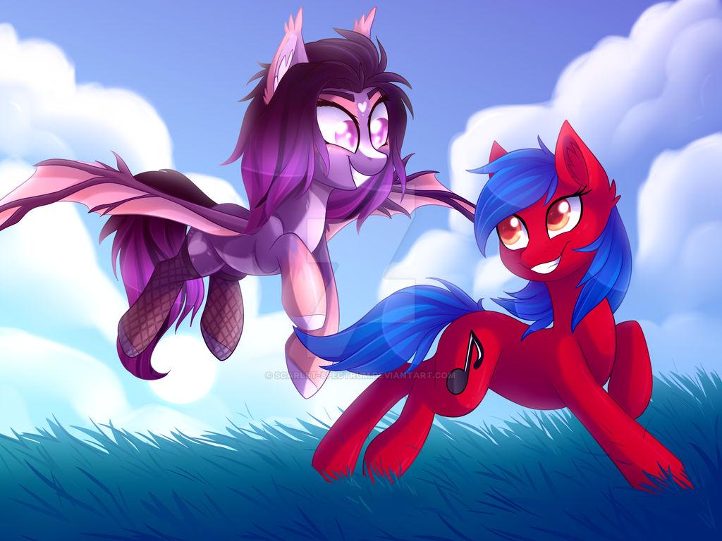 Firewolfy and Dawn Aurora [C]