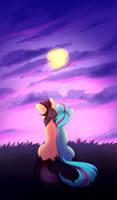 Sunset Ponies | Commission