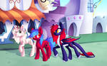 Warm day in Canterlot | Commission