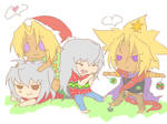 Chibi Conspireshiping Christmas~