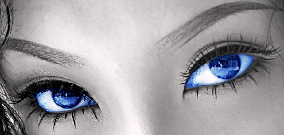 women fantasy eyes blue - photo #30