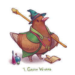 Septembird 1: Green Wizard