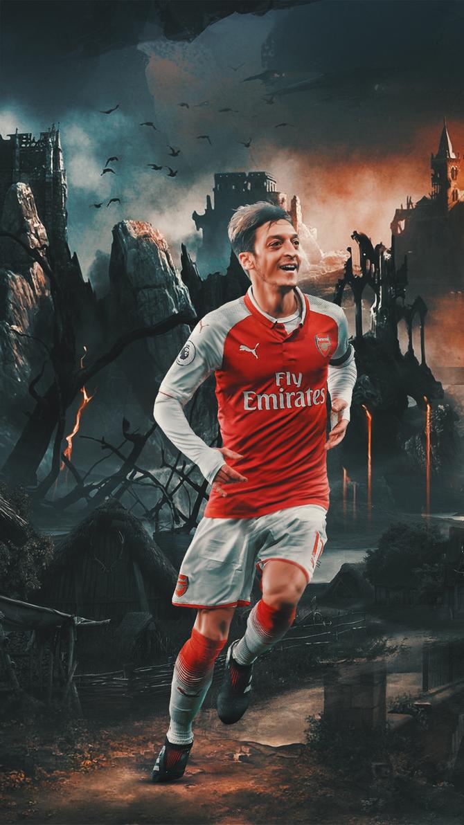 Mesut Ozil Wallpaper By AZK AFC