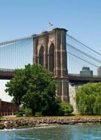 The Brooklyn Bridge by BeBeWalt
