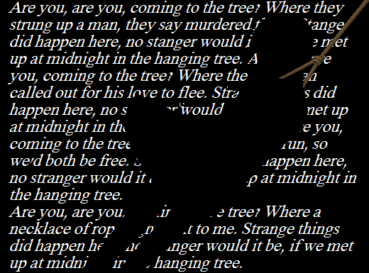 The Hanging Tree by saskura4ever