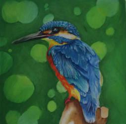 Hummingbird  by A-M-K-Arts