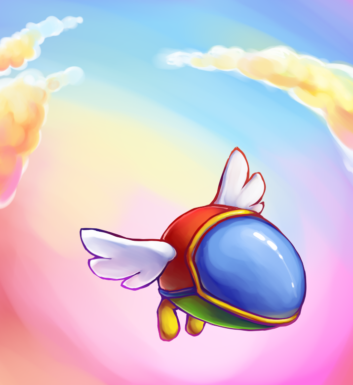 Fantasy Zone by fuzzball288
