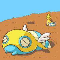 Burrowing Dunsparce by fuzzball288