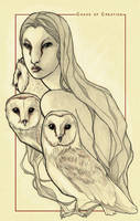 The owl witch by TheChaosOfCreation