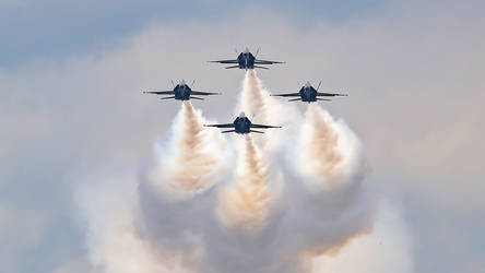 Blue Angels Coming At You
