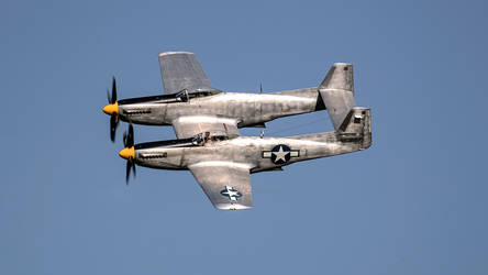 North American XP-82 Twin Mustang.