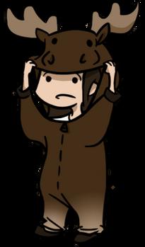 Moose costume