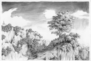 Invented landscape 2 by AntoineRozel
