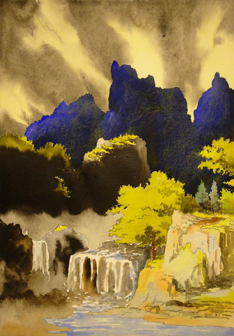 Landscape 5 by AntoineRozel