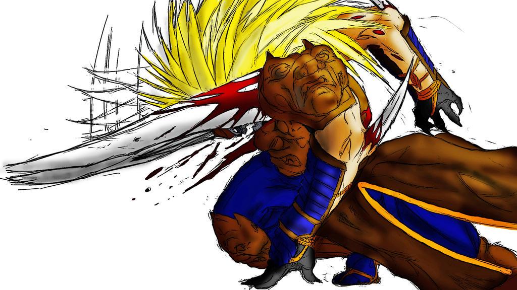 Garuda Street Fighter PAINTING By Garudoz1 By Garudoz1 On