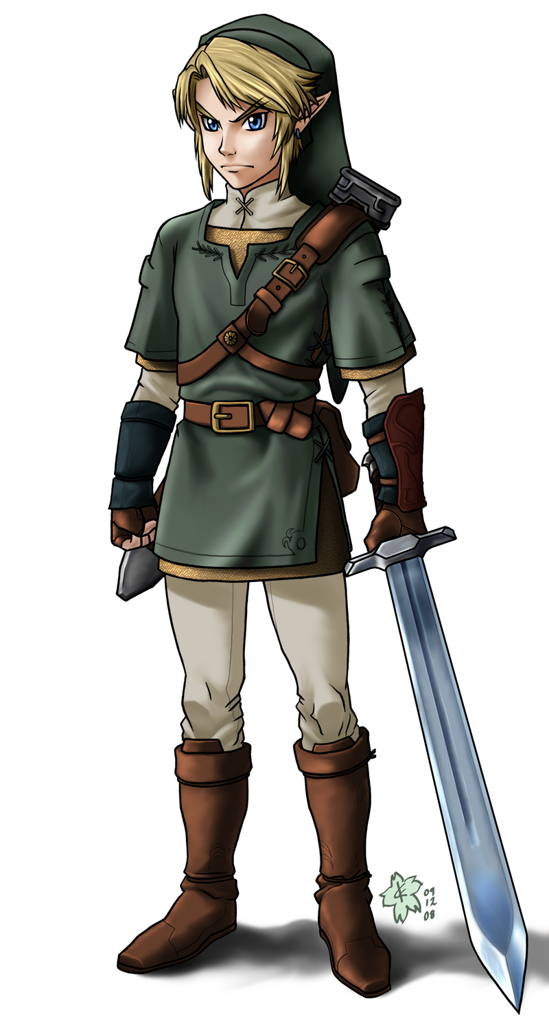 Link  Twilight Princess ver  by Arc-EcclesiaLink Twilight Princess