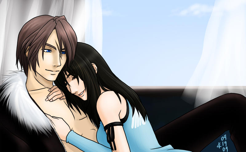 Squall And Rinoa Story Squall And Rinoa x3 by Arc