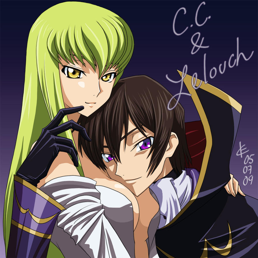 code geass lelouch and cc relationship questions