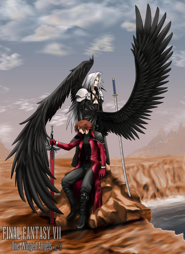 One-Winged Angels by Arc-Ecclesia on DeviantArt