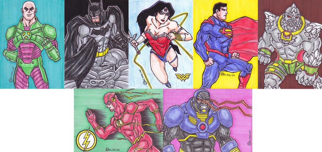 Sample - DC Sketch Cards by NaGaSaNe